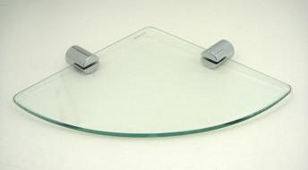 Miya Corner Glass Shelf